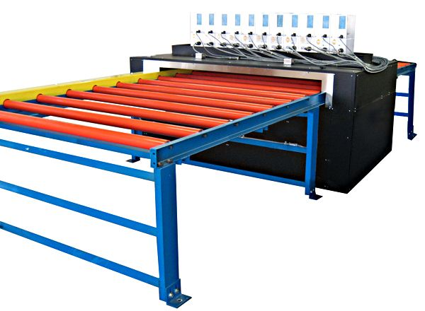 Wide Roller Conveyors for Heavy Parts